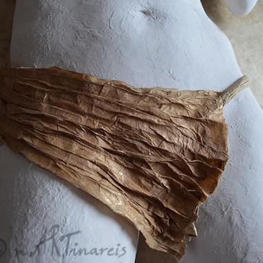 -Papierschürze- abnehmbar