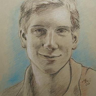 Portraitzeichnung Auftrag