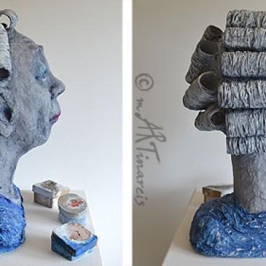 'Alte Schachtel' - andere Ansichten - 2012 - Papierplastik