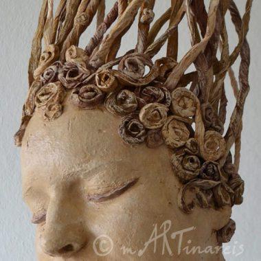 ´Miriama´ - Detail - Haarmodellierung aus Papier