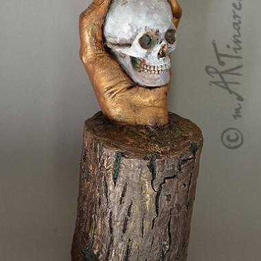 Sein oder nicht sein - Handskulptur
