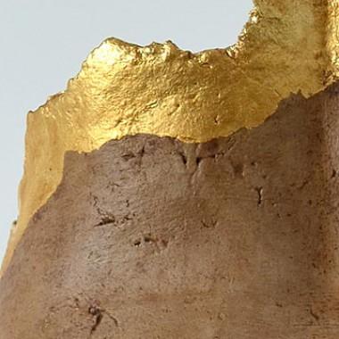Po-Abformung, Pappmaché, Detail