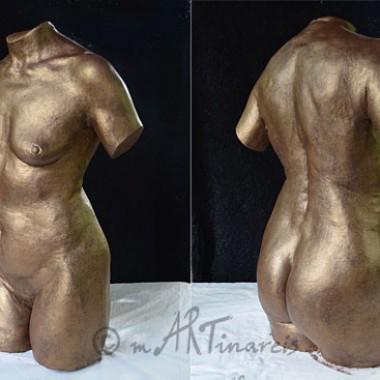 Volltorso in Bronzeoptik
