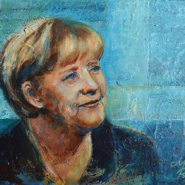 Portrait der Kanzlerin
