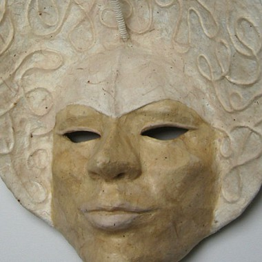 Maske -´Calla´- Detail