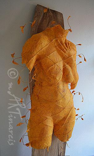 mARTinareis Papier-Torsos - Torsi aus Papier und Pappmaché