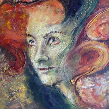-Der Geist des vergangenen Sommers--- 30x40 cm, Acrylmischtechnik, verkauft