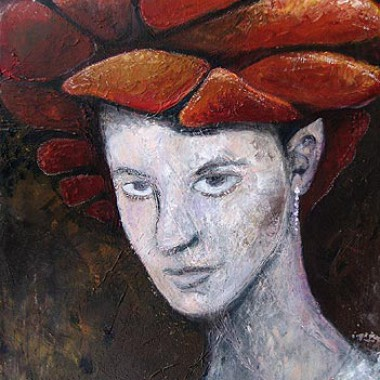 -Elfenkönigin--- 60x80 cm, Acryl