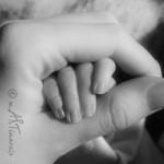 Baby und Mutter