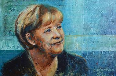 Portrait der Kanzlerin, 2014