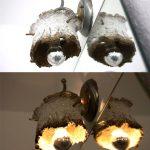 Lampenschirm aus Pappmache