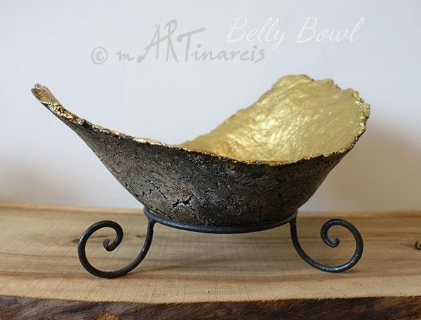Belly Bowl - Babybauchschale, individuell und zeitlos