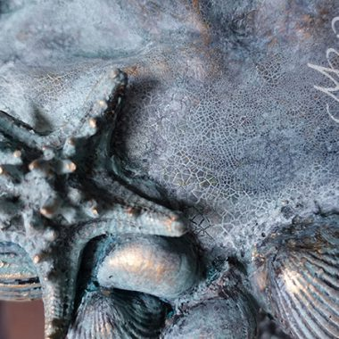 Büste ´Atlantida´ Detail